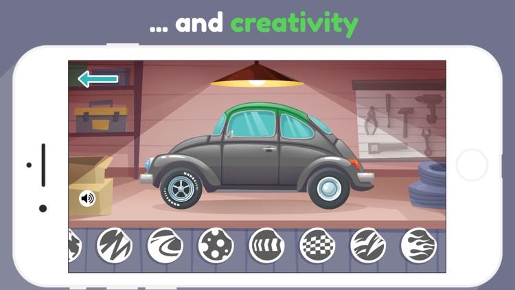 Car Maker for kids & toddlers