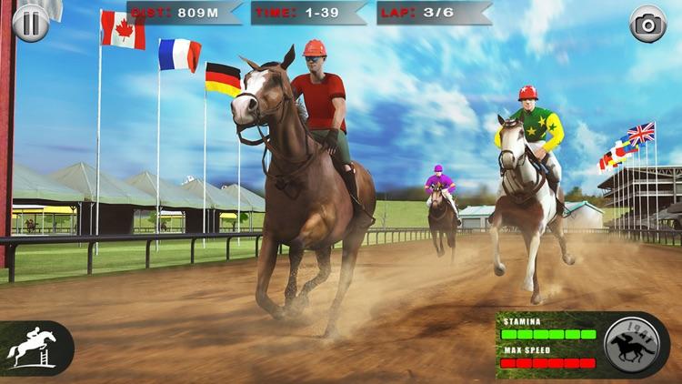 Horse Racing: 3D Riding Games screenshot-3