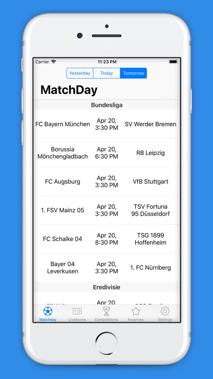 Goals - LiveScore Fixtures