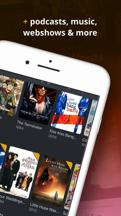 Plex: Movies, TV, Music + more