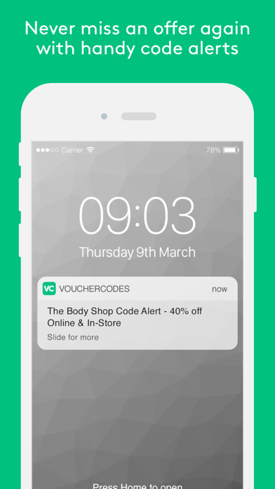 VoucherCodes: Discounts, Deals screenshot three