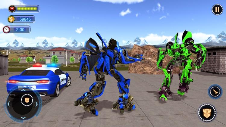 Fighting Robot Car Chase 2020 screenshot-3