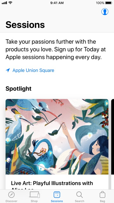 Screenshot for Apple Store in United States App Store