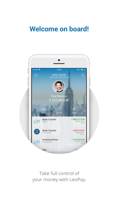 Télécharger LeoPay pour iPhone sur l'App Store (Finance)