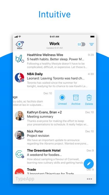 TypeApp Email, Mail & Exchange screenshot-4
