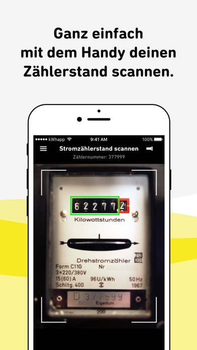 Screenshot for kwhapp - Strom & Gas Check in Germany App Store