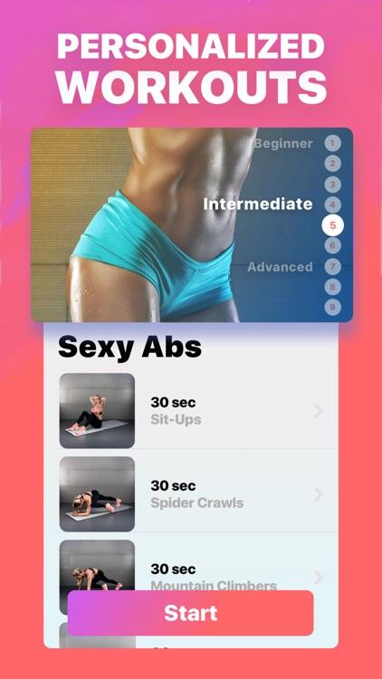 She Fit - Female Fitness screenshot-3