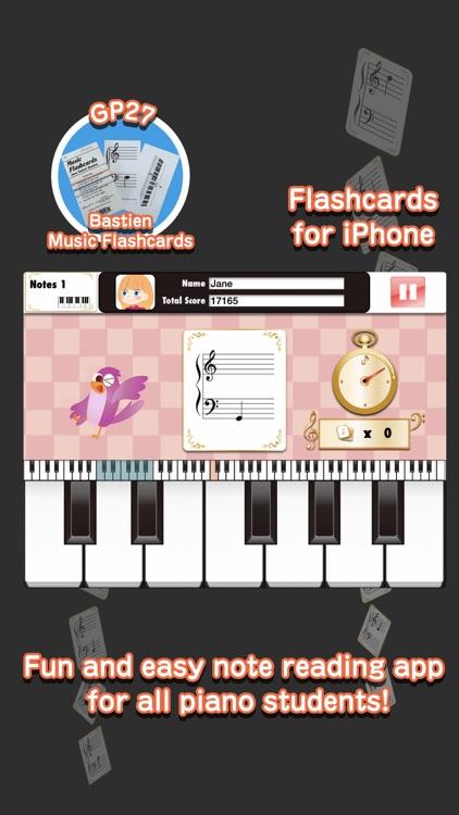 Bastien [Note] Flashcards