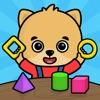 2歳以上の子供向け数字のお勉強ゲーム・幼児向け動物知育パズル