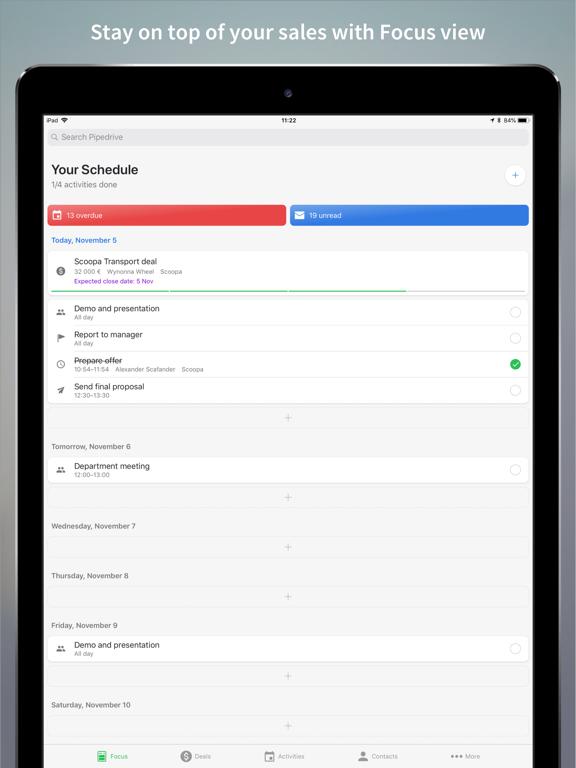 Pipedrive – Sales CRM screenshot