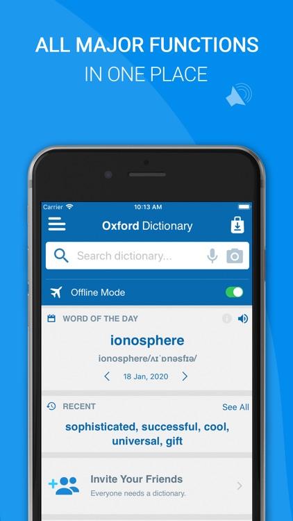 Oxford Dictionary of English screenshot-3