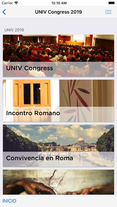 UNIV Congress screenshot two
