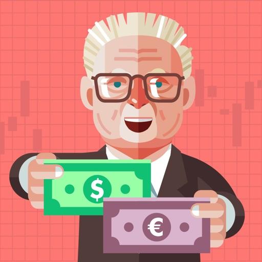 Forex & Stock Market Game Icon