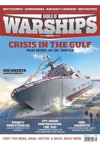 World of Warships Magazine - náhled