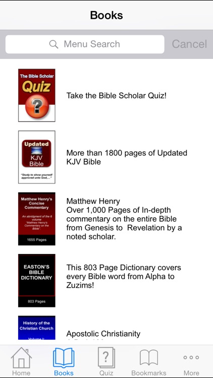 Bible Scholar Interactive screenshot-1