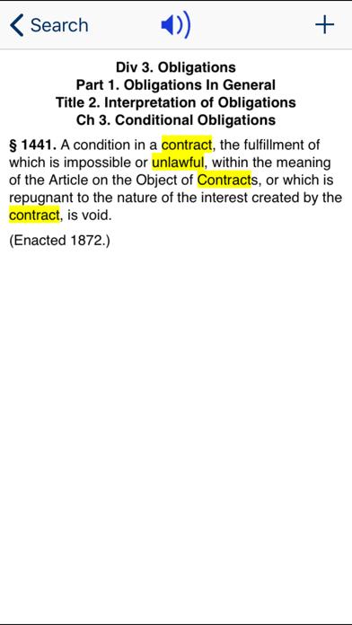 CA Civil Code 2020 screenshot three