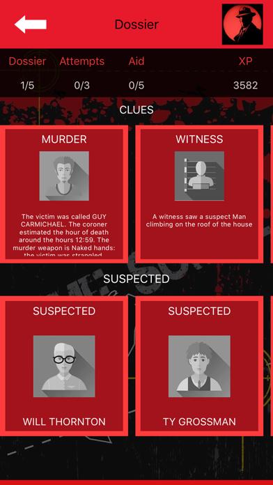 Crime Scene Detective CrimeBot screenshot 1
