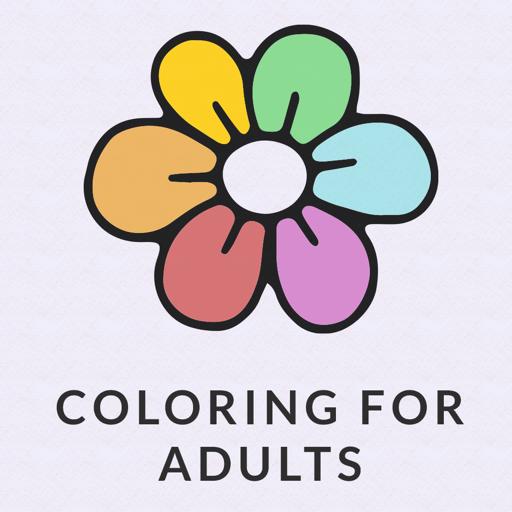 禅: 成人填色彩书。