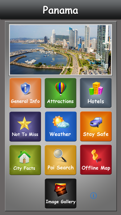 Panama Offline Map Guide screenshot one