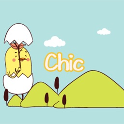 Chic-Sticker