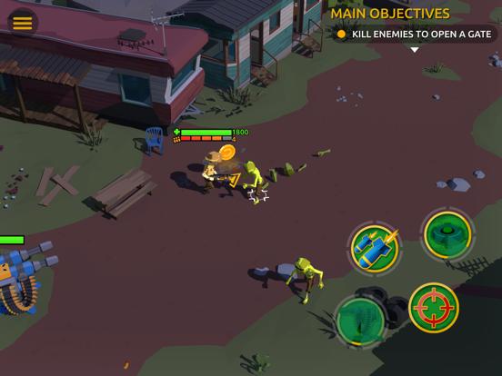 Zombie Blast Crew на iPad
