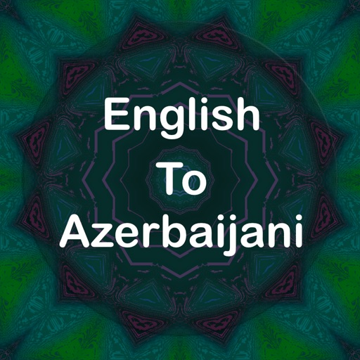 English To Azerbaijani :)