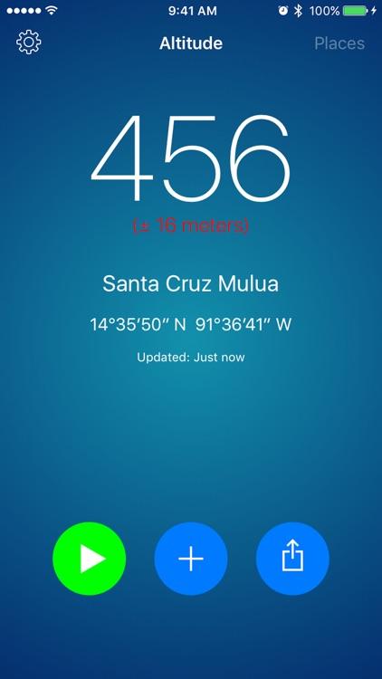 Altitude Plus - GPS Altimeter screenshot-0