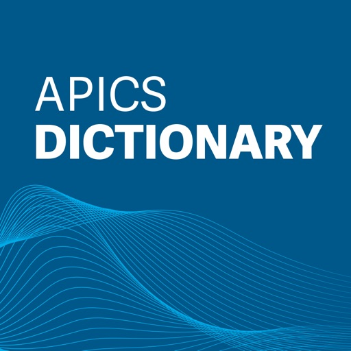 APICS Dictionary free software for iPhone and iPad