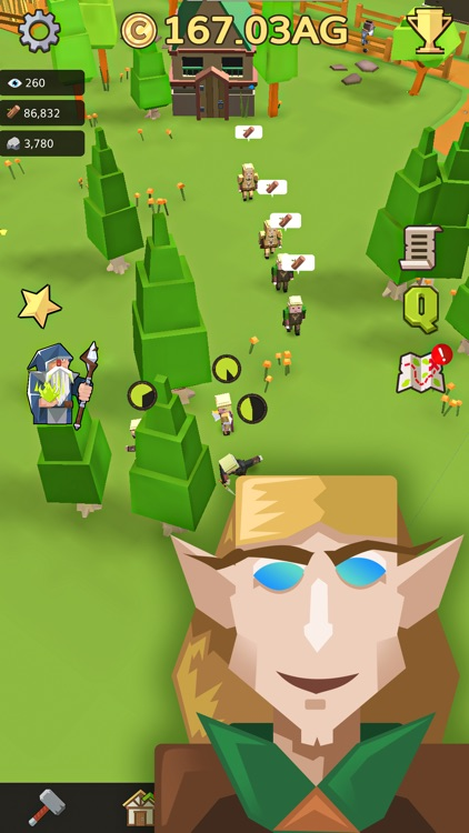 Medieval: Idle Tycoon Clicker screenshot-3