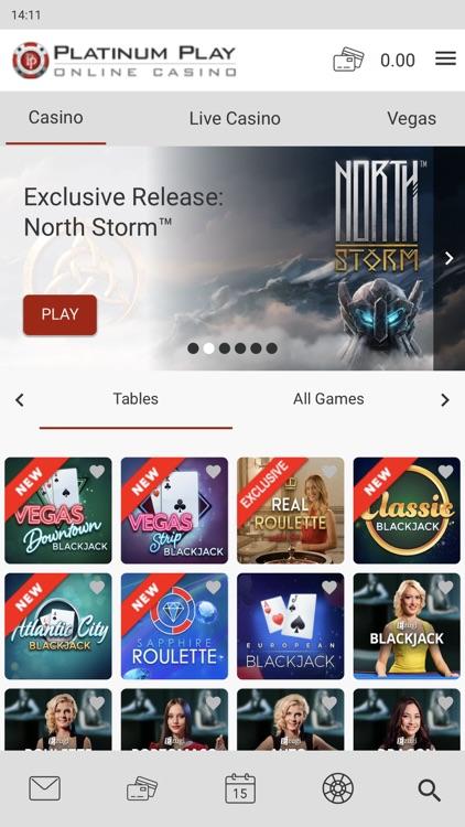 Platinum Play Online Casino screenshot-4