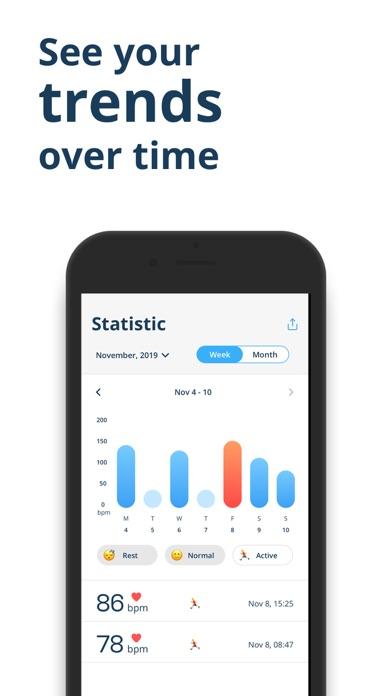 Heart Rate Monitor - Pulse HR Screenshot