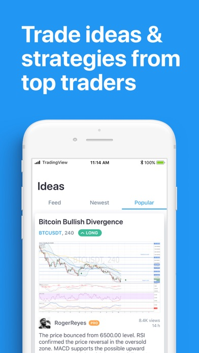 TradingView - Stocks & Forex for PC - Free Download: Windows 7,8,10 Edition