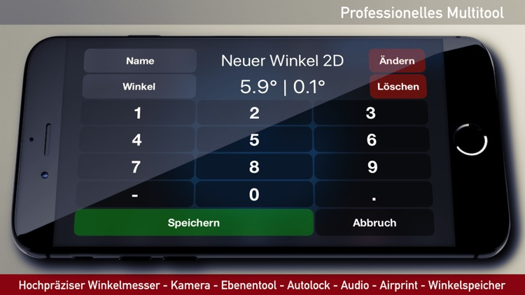 iLevel - Protractor and Level screenshot-3