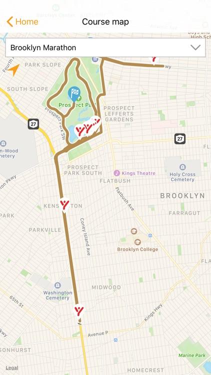 NYCRUNS Brooklyn Marathon screenshot-3