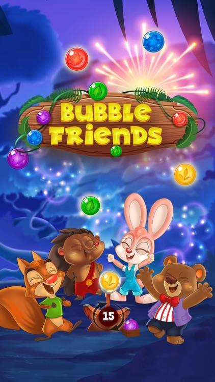 Bubble Friends - Bubble Pop screenshot-6