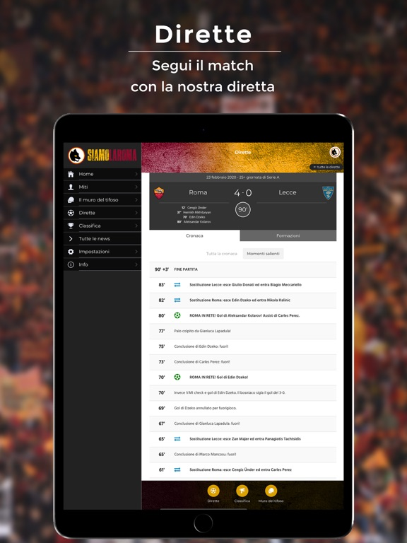 SiamoLaRoma screenshot 7