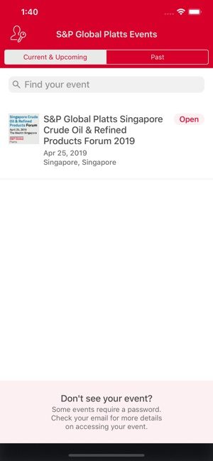 S&P Global Platts Events on the App Store