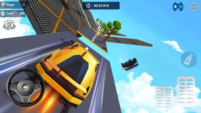 Car Stunts 3D - Sky Parkour screenshot 2