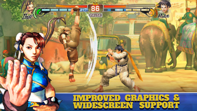 Screenshot from Street Fighter IV CE
