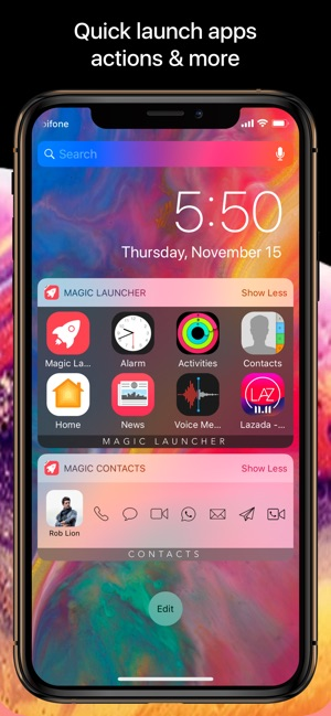 Magic Launcher Pro Screenshot