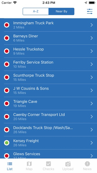 intruck - Truckstop App screenshot one