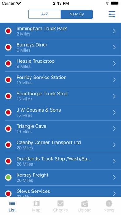 intruck - Truckstop App screenshot one