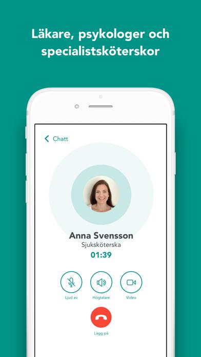 Screenshot for Doktor.se - vård i mobilen in Denmark App Store