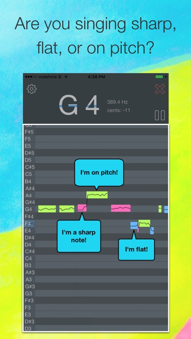 download OnPitch - Vocal Pitch Monitor apps 0