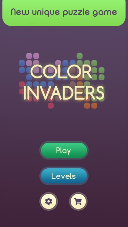 Color Invaders! Line Puzzle
