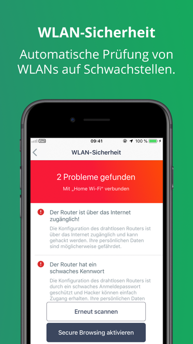 Screenshot for Avast Sicherheit & Photo Vault in Germany App Store
