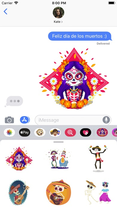 Dia de Muertos Skeleton Pack screenshot 1