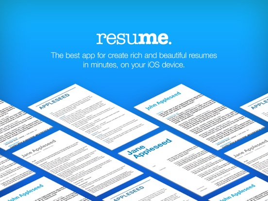 Resume Maker Screenshots