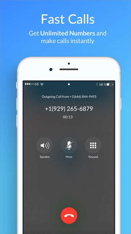 Second Phone Number - SIMless