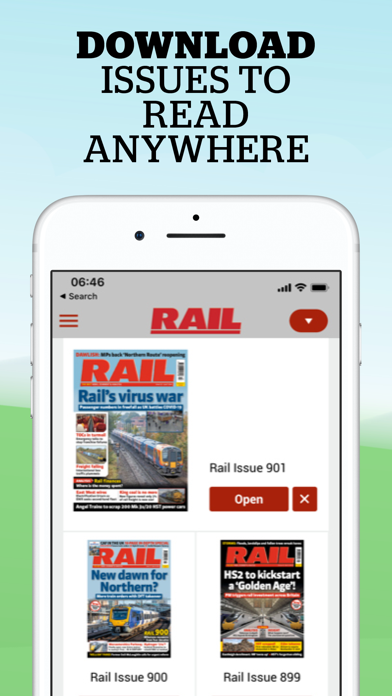 RAIL Magazine screenshot three